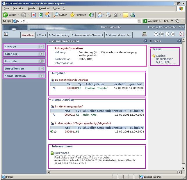 Workflow Zusammenfassung